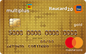 Fotografia do Cartão Multiplus Itaucard 2.0 Gold Mastercard